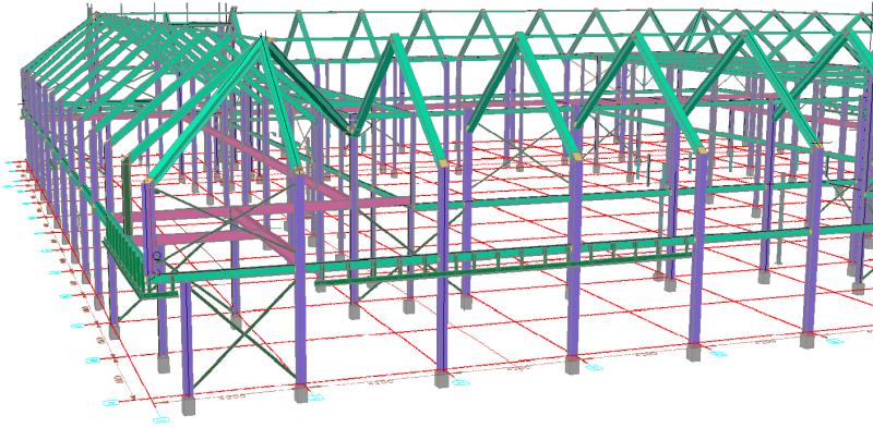Staalbouw Tekenen In 3d Parabuild Staalconstructie Software