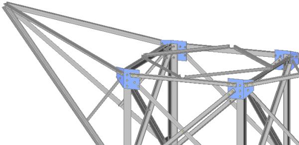 Windverbanden Vakwerken Trappen En Leuningen Parabuild